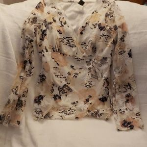 Wrapper blouse
